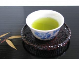 シックな緑茶