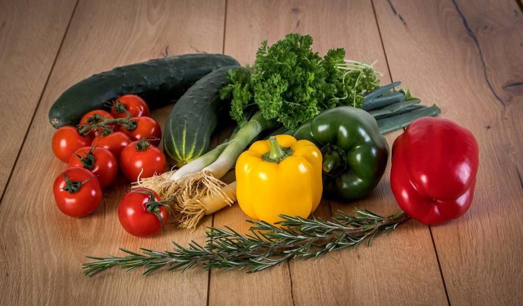 美味しそうな野菜の写真