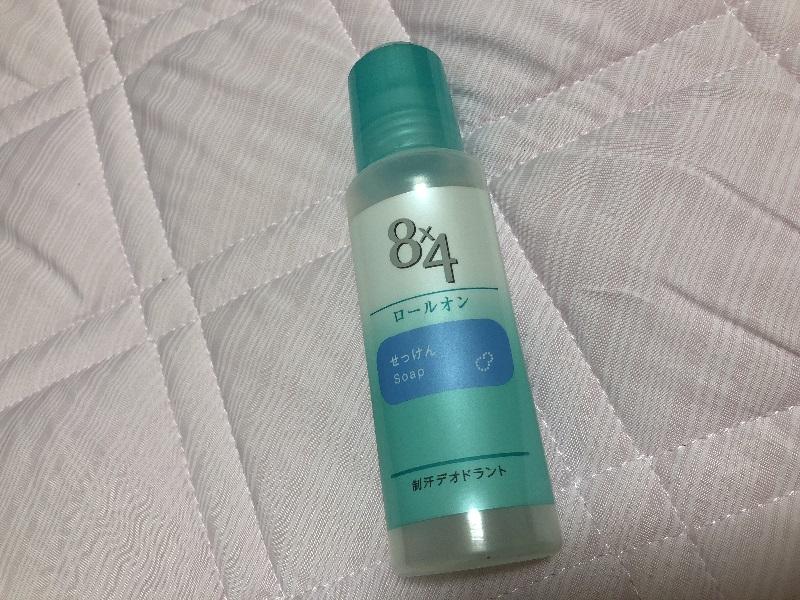 8×4ロールオンタイプ、石鹸の香りの写真